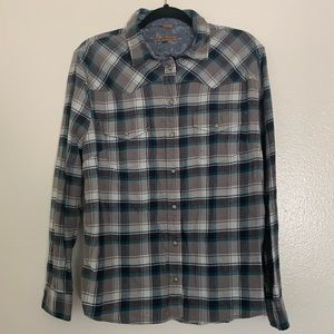 JACHS Girlfriend | Bea | Plaid Button-Up | Large
